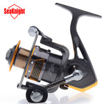 SeaKnight Carbon Fiber Super Light 11BB Spinning Fishing Reel+Plastic Spare Spool - GhillieSuitShop