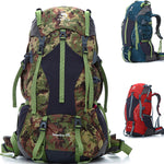 Outdoor Travel Rucksack Bag Backpack 65L - GhillieSuitShop