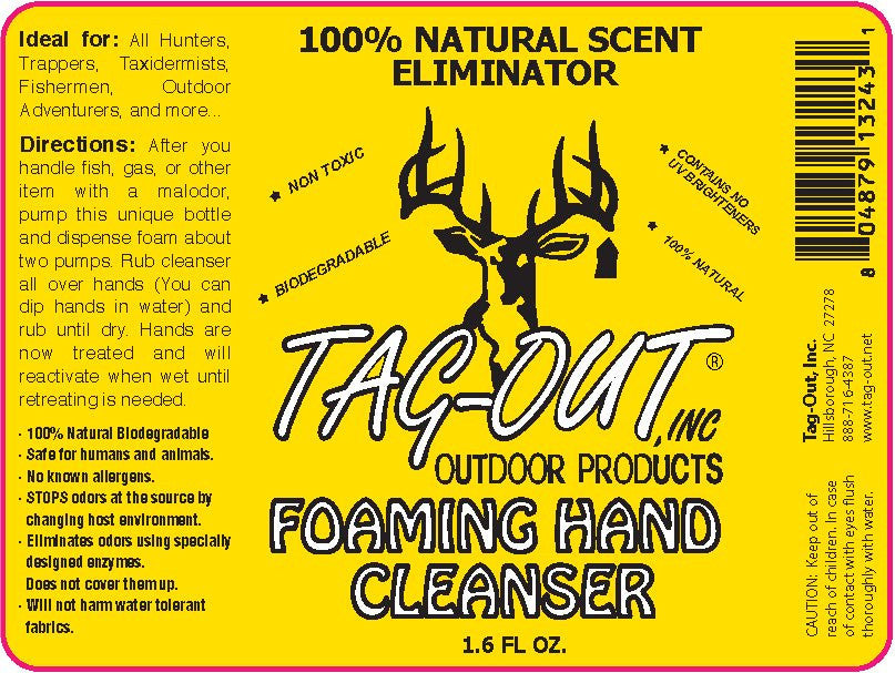 Foaming Hand Cleaner - GhillieSuitShop