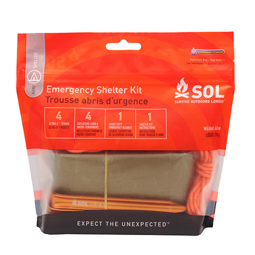 SOL Emergency Shelter Kit - Hiking, Camping Tent - GhillieSuitShop
