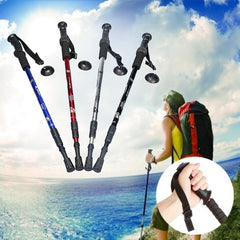 3-section Adjustable Canes Walking Hiking Sticks Trekking Pole Compass - GhillieSuitShop