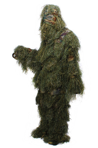 Camouflage Suit Birdwatching Hunting Ghillie Tactical Clothing Split - GhillieSuitShop
