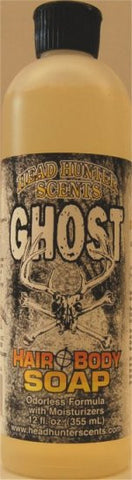Ghost Hair & Body Soap 12 fl. oz. - GhillieSuitShop