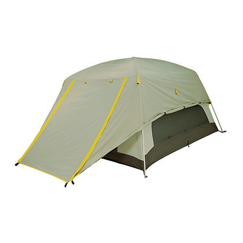 Glacier 4 - Aluminum - Gray/Gold - Hiking, Camping Tent - GhillieSuitShop