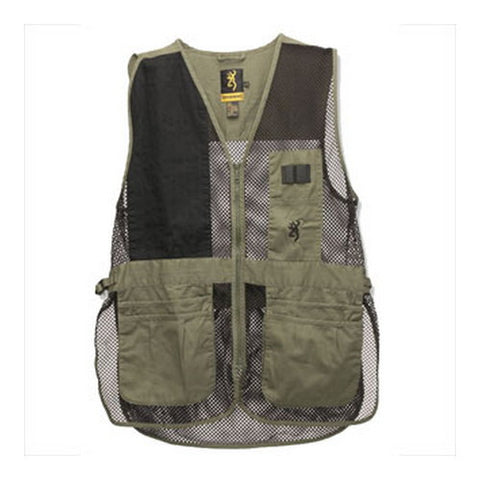 Vest,Trapper Creek Sage/Blk,2Xl - GhillieSuitShop