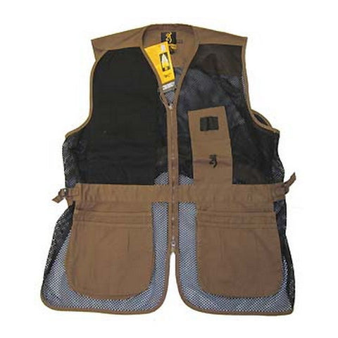 Vest,Trapper Creek Clay/Blk,M - GhillieSuitShop