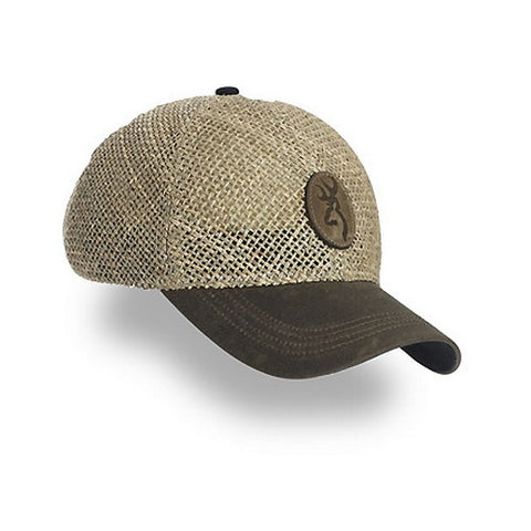 Cap Straw W/Repeltex Brm Brown - GhillieSuitShop