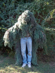 Military Stalker Ghillie Poncho  Jute thread - GhillieSuitShop