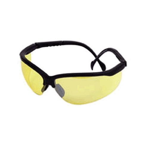 Shooting Glasses- Adj Open Blk/ Yellow - GhillieSuitShop