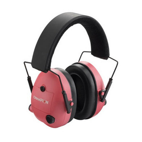 Electronic Ear Muffs, Pink - GhillieSuitShop