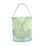 Folding Clear Water Bucket - GhillieSuitShop