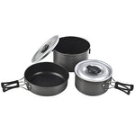 Ridge Hard Anodized Cookset, Med - GhillieSuitShop