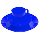 Acadia Tableware Set, Blue - GhillieSuitShop