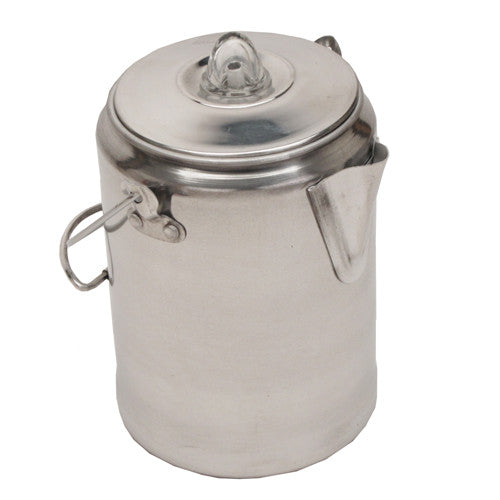 Coffee Pot 9 Cup Aluminum - GhillieSuitShop