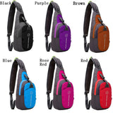 Men Women Waterproof Sport Chest Pouch Shoulder Crossbody Bag - GhillieSuitShop