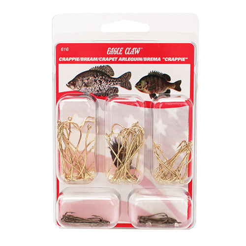 Crappie/Bream Hook Assortment Clam 80pcs - GhillieSuitShop