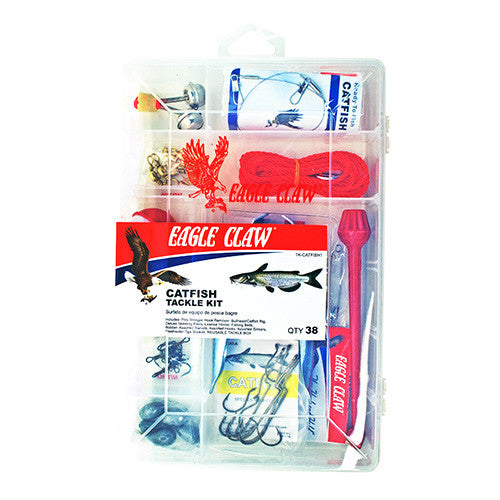 Catfish Tackle Kit TK-CATFISH1 38pcs - GhillieSuitShop