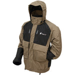 Firebelly Toadz Jacket Black and Stone Color