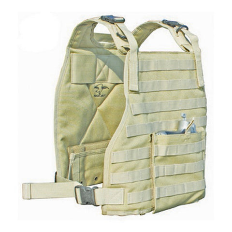 Plate Carrier Vest Tan - GhillieSuitShop