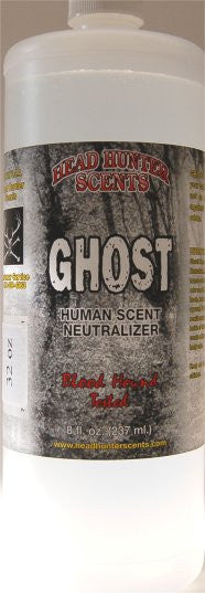 GHOST -  Human Scent Neutralizer 32 fl. oz - GhillieSuitShop