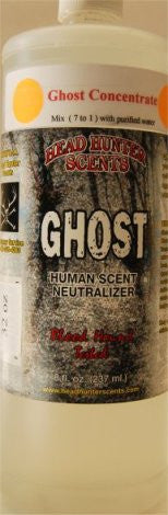 GHOST - Concentrated Human Scent Neutralizer 32 fl. oz - GhillieSuitShop