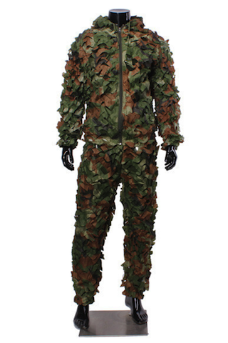 Jungle Burr Camouflage Clothing Ghillie Suit Camouflage Training Suit - GhillieSuitShop