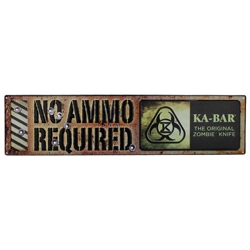 "Original Zombie ""No Ammo Required"" Sign - GhillieSuitShop"