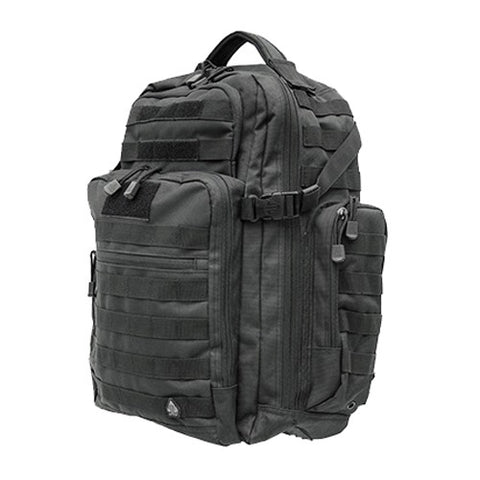UTG 2-Day Pack, Black - GhillieSuitShop