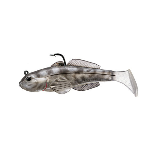 Goby soft plastic,medium sink,smoke1/0 - GhillieSuitShop