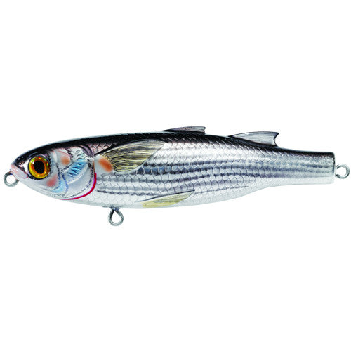 Mullet Walking Bait,silver/black,#2 - GhillieSuitShop