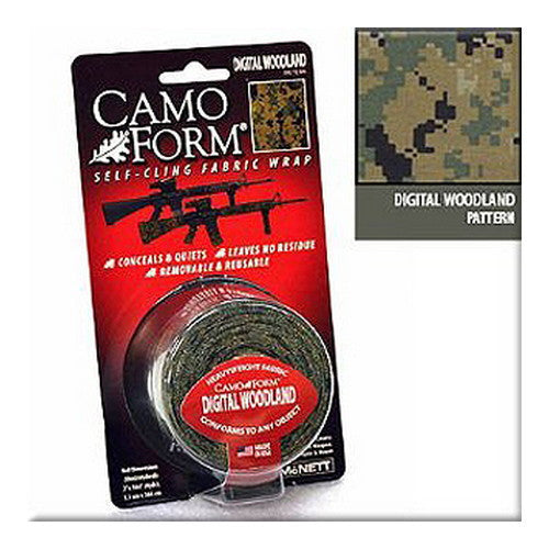 Camo Form Woodland Digital Mil - GhillieSuitShop