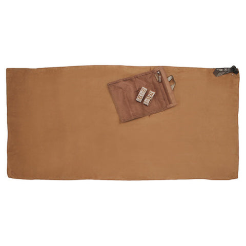 OutGo Microfiber Towel XL Coyote - GhillieSuitShop