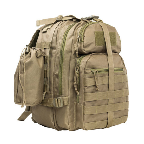 Vism Small Back Pack/Mono Strap/Tan - Backpack, Bag - GhillieSuitShop