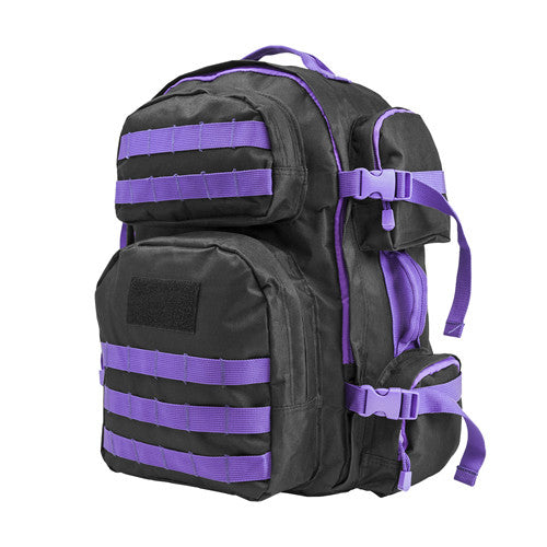 Vism Tactical Backpack-Blk w/Purple - GhillieSuitShop