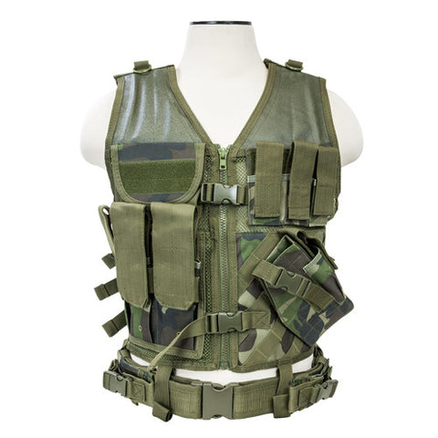 Vism By Ncstar Tactical Vest/WC M-Xl - GhillieSuitShop