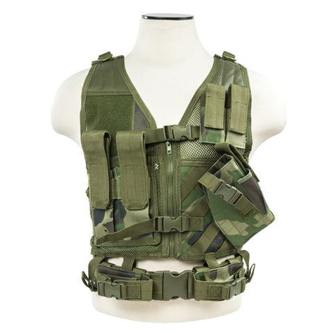 Vism By Ncstar Tactical Vest/WC XS-S - GhillieSuitShop