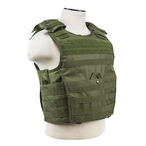 Expert Plate Carrier Vest - Green - GhillieSuitShop