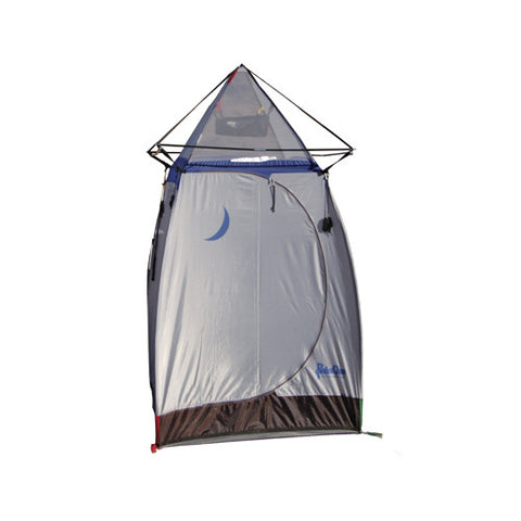 Tepee Gray Fiberglass - Blue - Hiking, Camping Tent - GhillieSuitShop