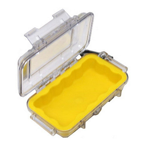 1015 Micro Case, Clear Top Yellow - GhillieSuitShop