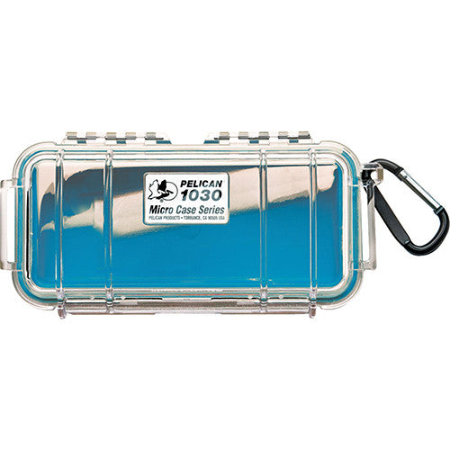 1030 Micro Case, Clear Top Blue - GhillieSuitShop
