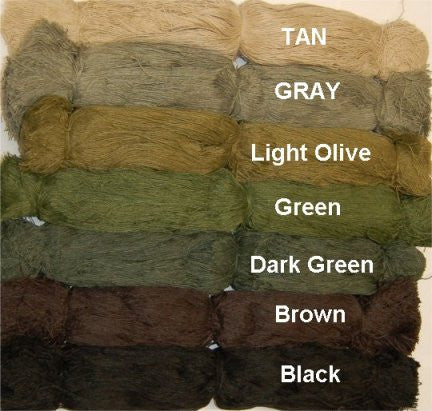 Synthetic Ghillie Thread - GhillieSuitShop