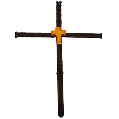 "13"" Welded Nails Cross - GhillieSuitShop"