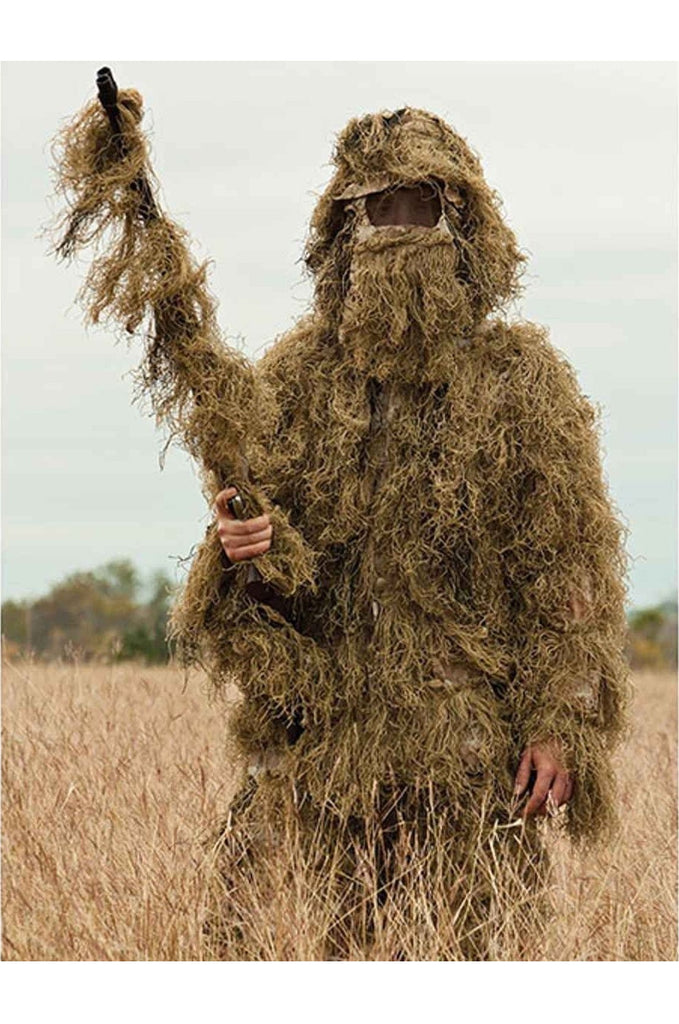 Desert 5 Piece Ghillie Suit Outdoor Gear