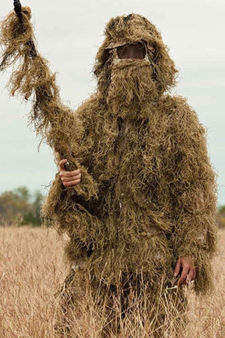 Desert 5 Piece Ghillie Suit - Ghilliesuitshop Outdoor Gear
