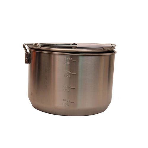 Adventure Two Pot Prep + Cook Set SS - GhillieSuitShop