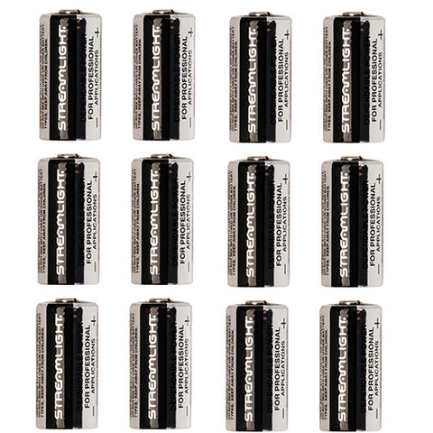 Lithium Batteries 12 pack, CR123A - GhillieSuitShop
