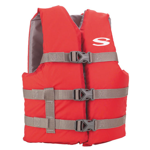 PFD 3007 Cat Boating Vest Youth Red - GhillieSuitShop