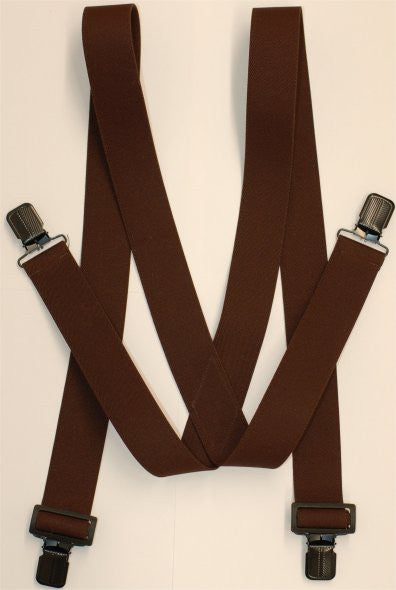 Sniper Suspenders, Clip-on, Brown color - GhillieSuitShop