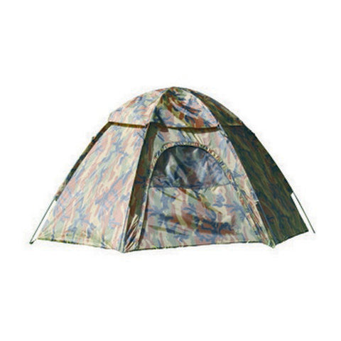 Tent, Camouflage Hexagon Dome - Hiking, Camping Tent - GhillieSuitShop