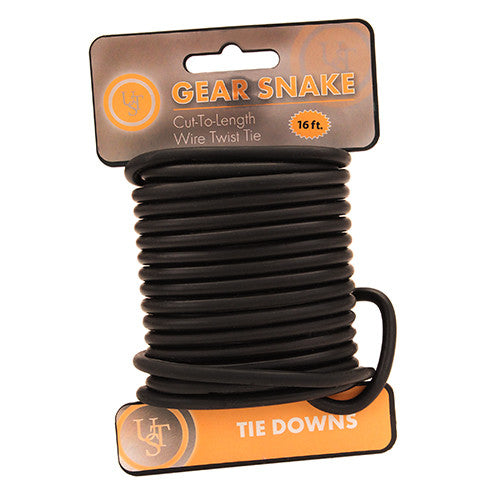 UST GEAR SNAKE Cut to Length Wire Twist Ties TIE DOWNS for Camping Equipment